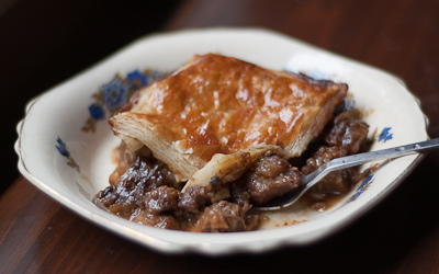 Guinness and Beef Pie