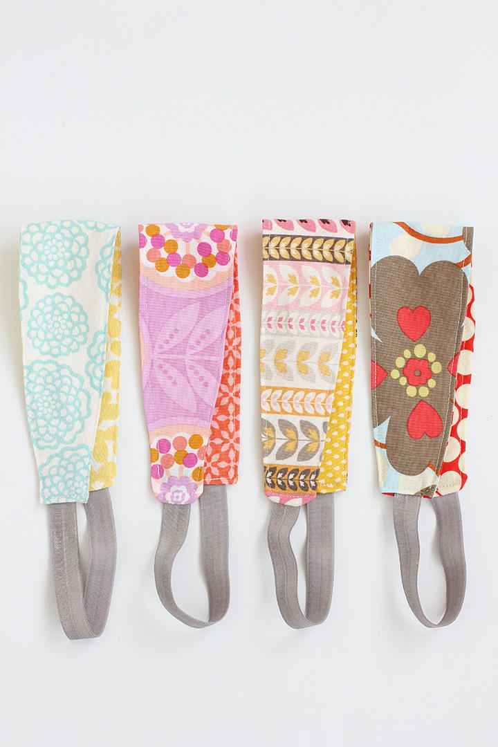 Reversible Fabric DIY Headbands   FaveCrafts.com