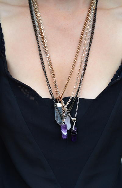 Stevie Nicks DIY Necklace