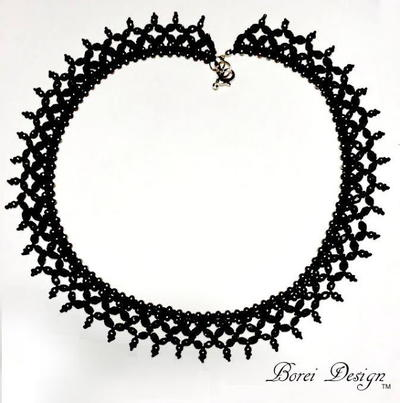 Noire Free Necklace Pattern