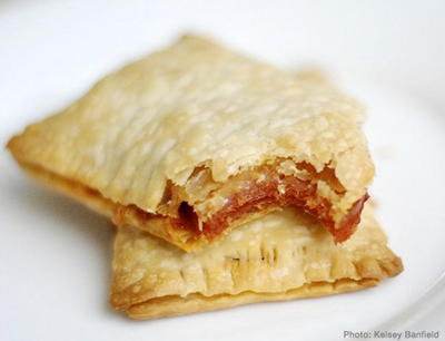 Homemade Pepperoni Pizza Hot Pockets