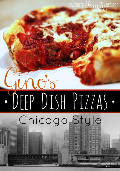 Ginos East Deep Dish Pizza