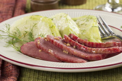 Corned Beef and Dilly Cabbage