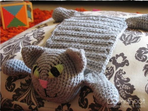 Kitty crochet scarf pattern for How to crochet cat toys
