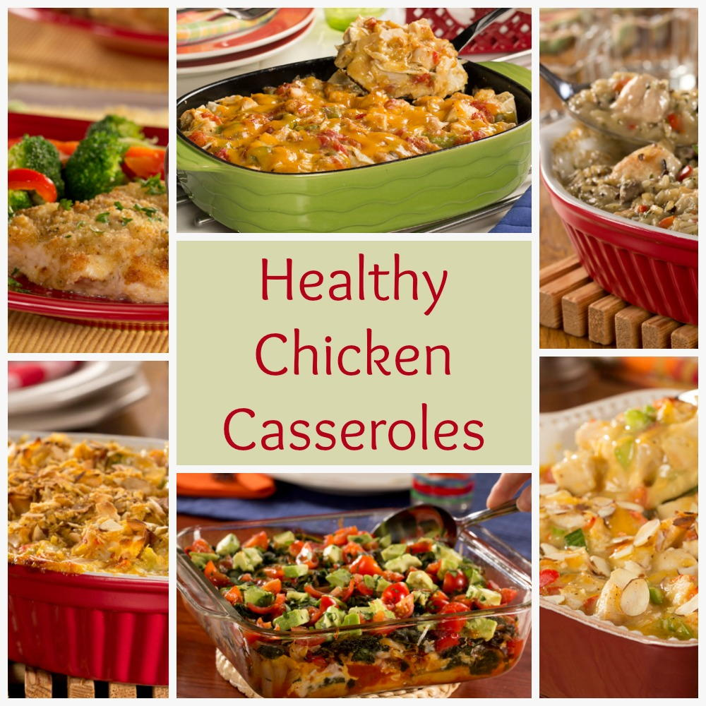 Casseroles Recipes: Healthy Chicken Casserole Recipes: 6 Easy Chicken