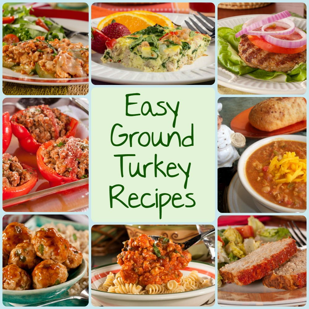 8 More Delicious And Easy Ground Beef Dinner Ideas: 10 Easy Ground Turkey Recipes: Chili, Burgers, Meatloaf
