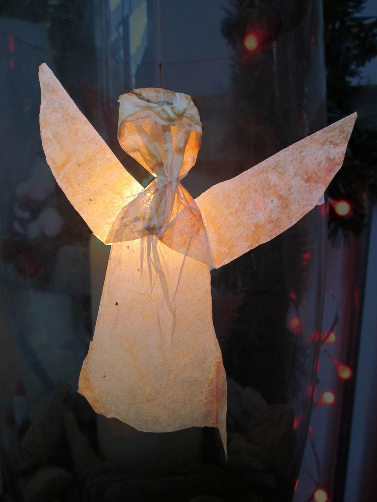 unique used tea bag flying angel allfreechristmascraftscom