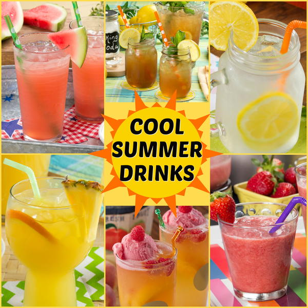 Cool summer drink recipes for Summer drinks for party