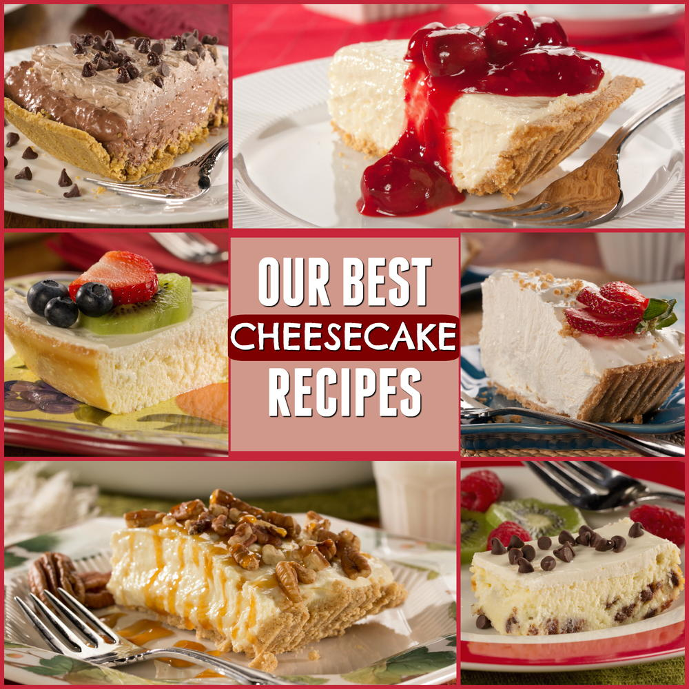 Our Best Cheesecake Recipes: Top 10 Easy Cheesecake