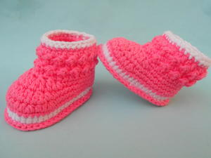 Cozy Toes Crochet Booties