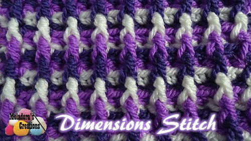 Dimensions Crochet Stitch