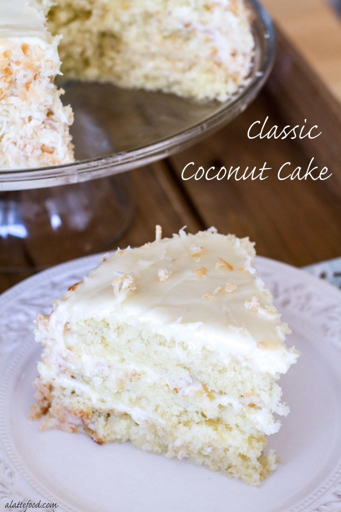 Classic Coconut Cake With Cream Cheese Frosting