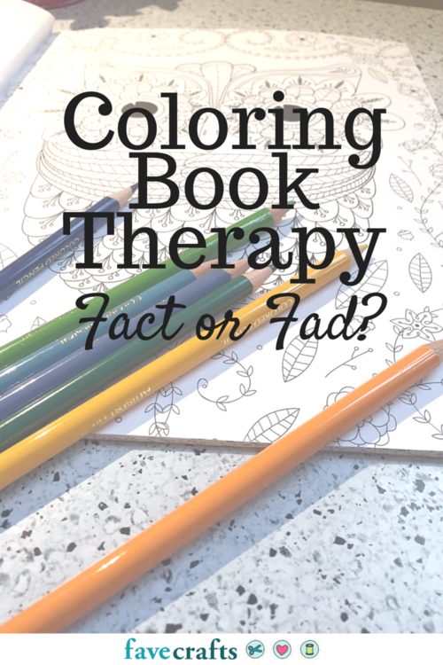 Coloring Book Therapy Fad or Fact