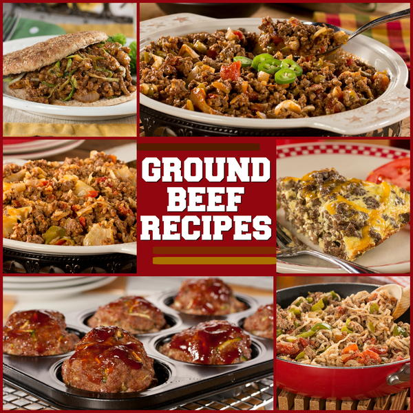 Extraordinary Recipes With Ground Beef