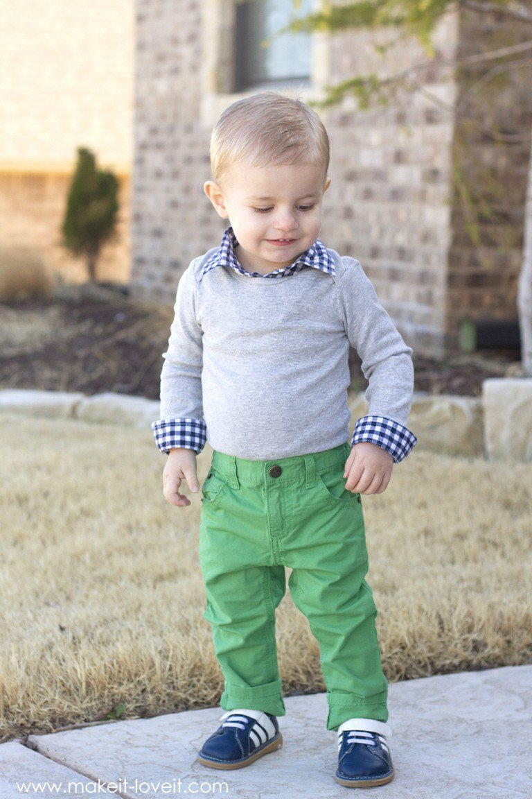 Dapper Boy Diy Baby Clothes Allfreesewing Com
