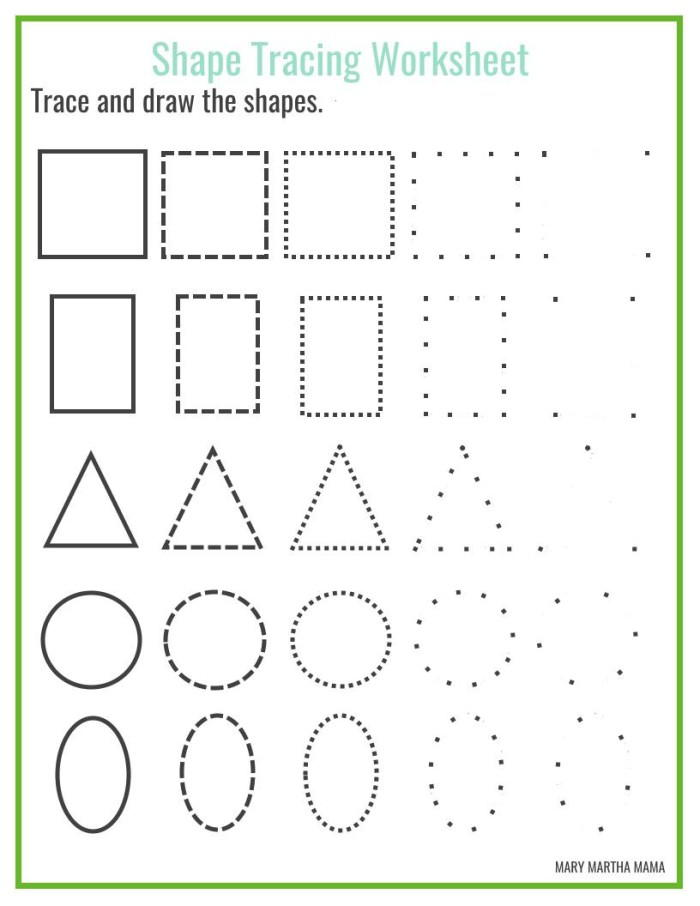 This is a picture of Hilaire Free Shapes Printables