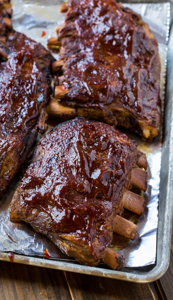 Slow Cooker St Louis Style Pork Ribs