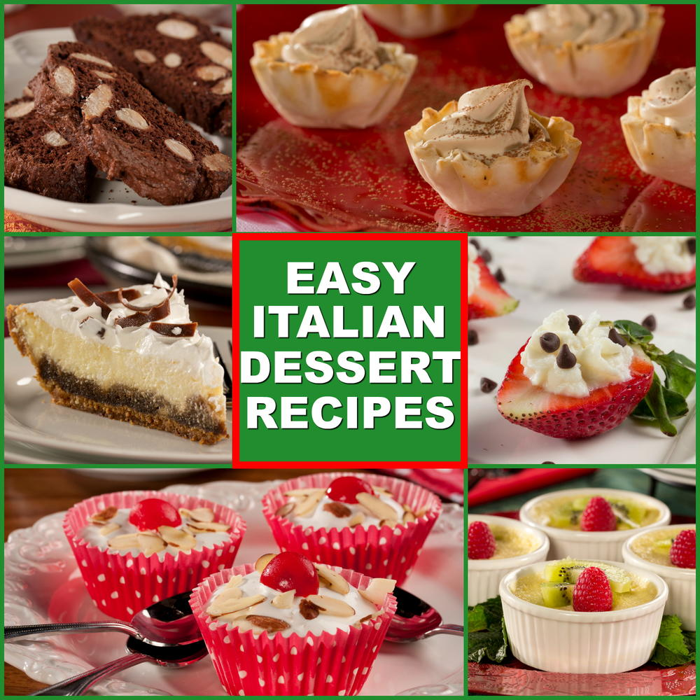 10 Easy Italian Desserts EverydayDiabeticRecipes.com