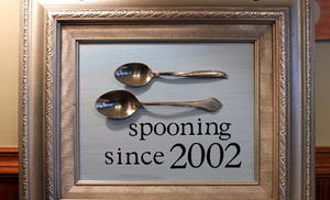 Forever Spooning DIY Wedding Gift