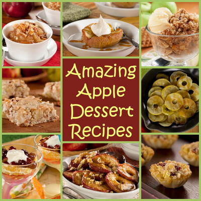 Easy apple recipes and other apple tips for Easy apple dessert recipes with few ingredients