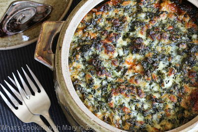 Moms Spinach Casserole