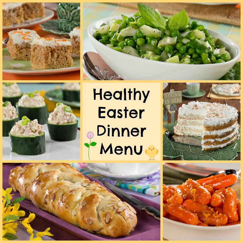 12 recipes for a healthy easter dinner menu for Food for easter dinner