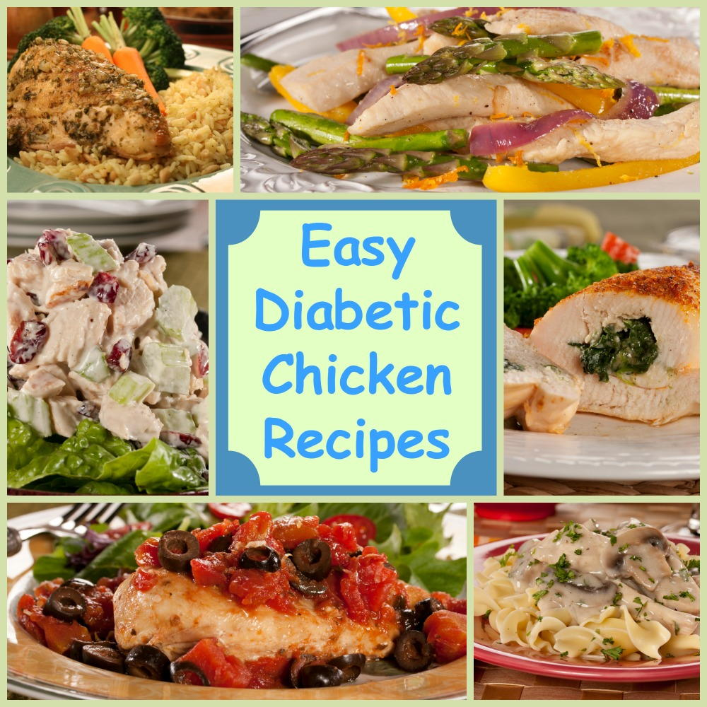 Eating Healthy: 18 Easy Diabetic Chicken Recipes
