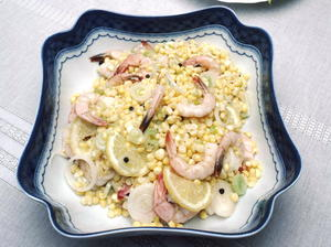 Beaufort Soused Corn And Shrimp
