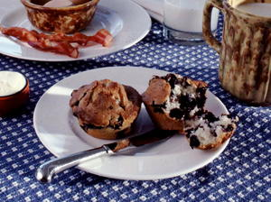 Jason's Blueberry Muffins