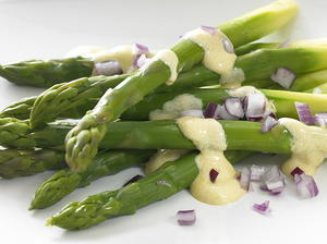 Asparagus with Mustard Sauce