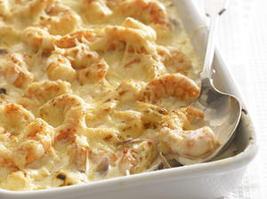Spicy Shrimp Gratin