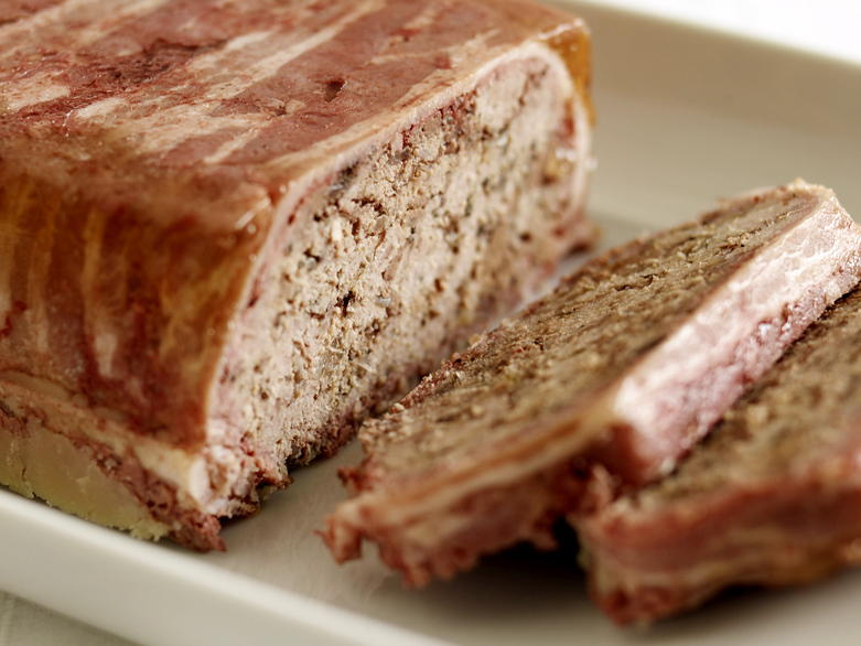 Rustic Meat Terrine Recipe — Dishmaps