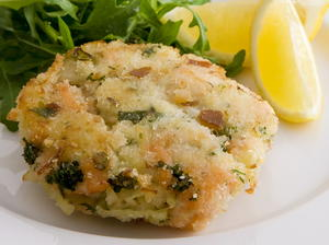 Smoked Salmon Potato Cakes