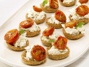 Goat Cheese Croustades