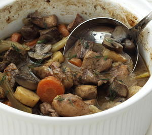 Autumn Game Casserole