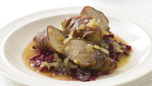Roast Partridge with Grapes in Sauternes