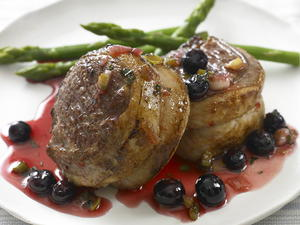 Lamb with Blueberries
