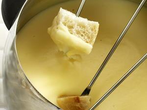Authentic Swiss Fondue