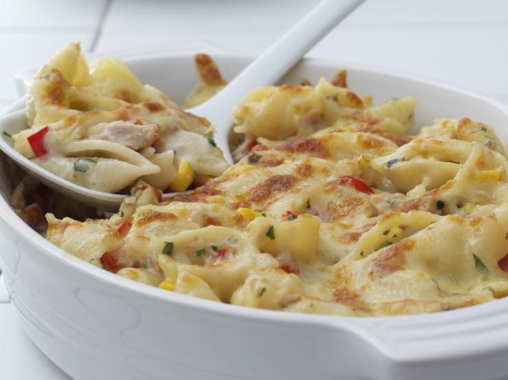 Pasta recipe with tuna