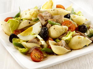 Pasta and Tuna Nicoise Salad