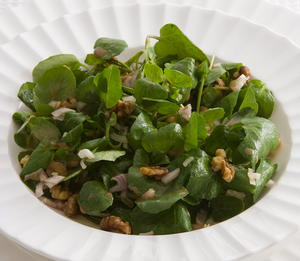 Watercress and Toasted Walnut Salad