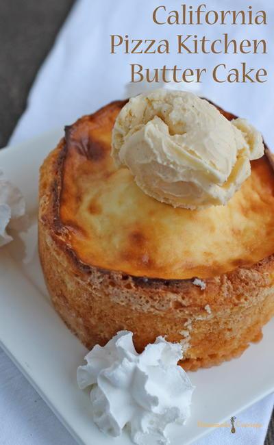 Gooey Butter Cake Recipe California Pizza Kitchen