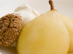 Baked Pears in Marsala