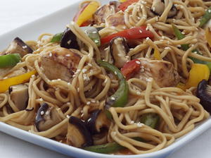 Chicken and Noodle Stir-fry