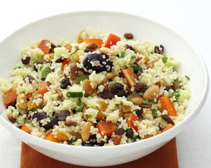 Couscous with Pine Nuts and Almonds