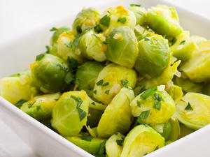 Brussels Sprouts with Orange