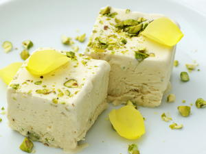 Coffee and Pistachio Semifreddo