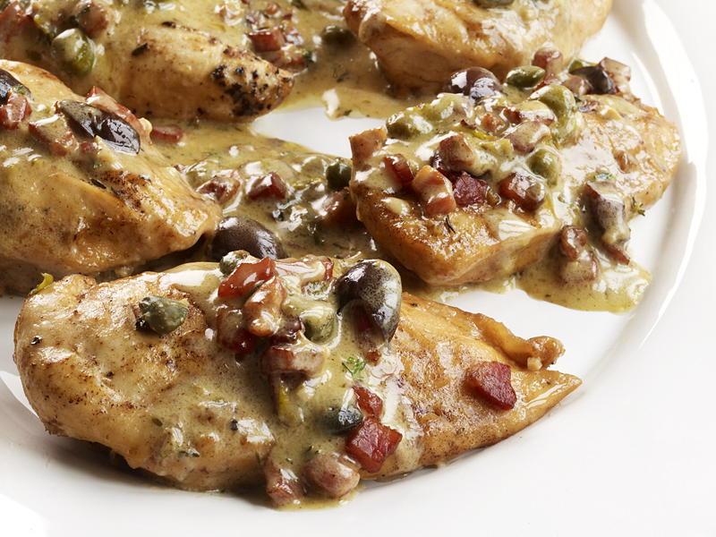 Chicken with Pancetta | Cookstr.com