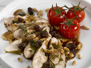 Chicken in Balsamic Vinegar