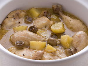Chicken Fricassée